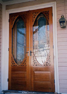 Silver Lake style 127 double storm doors & Considerations for Double Screen Doors