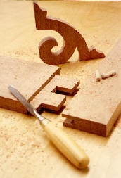 Mortise & tenon joinery